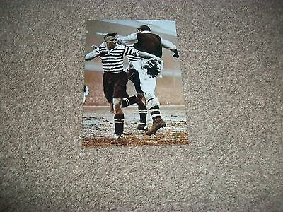 "ARSENAL v MANCHESTER UNITED  match action   1930s ?  6""x4""  REPRINT"