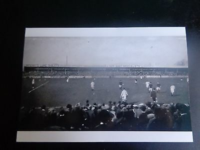 "NOTTINGHAM FOREST match Action 1921  Photo 6"" x 4""  REPRINT"