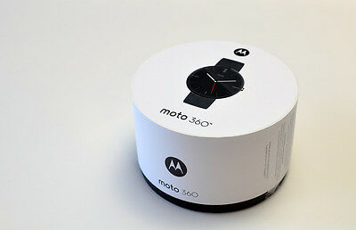 Motorola 00526NACRTL Moto 360 Smartwatch 42mm with Heart Rate Monitor - Black
