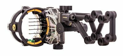 New 2017 Trophy Ridge Bear React H5 .019 Bow Sight Left Hand Black # As855L