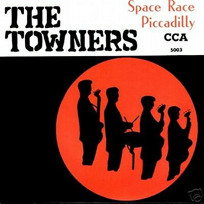 CCA 5003 The Towners - German Beat  - 1966 - ONLY PS Cover