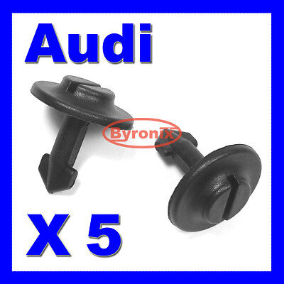 Audi Undertray Clips Engine Guard Cover A2 A4 A6 A8 Tt