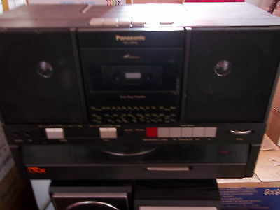 vintage record player panasonic