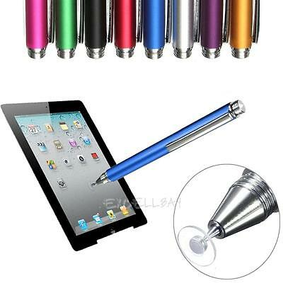 Thin Tip Capacitive Stylus Pen Fine Point Round For iPhone 7 iPad Samsung S8 HTC