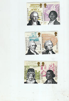 2007 Abolition Of Slave Trade Full Set Umm/mnh Below Face Value