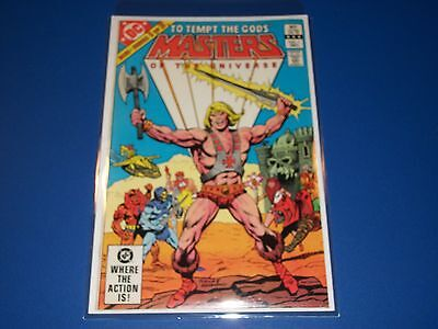 Masters of the Universe #1 He-Man Wow DC Comics VF+ Beauty