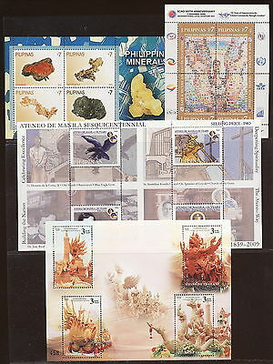 WORLDWIDE 2000 's SELECTION OF 8 THEMATICS MINIATURE SHEETS MNH.   A90
