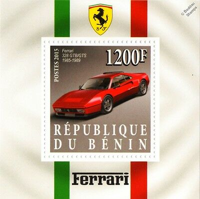 1985-1989 FERRARI 328 GTB/GTS Sports Car Stamp