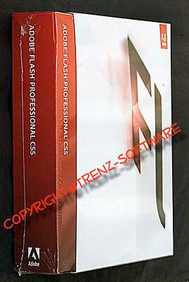Adobe Flash Professional CS5 deutsch Macintosh Vollversionspaket  - MwSt. CS 5