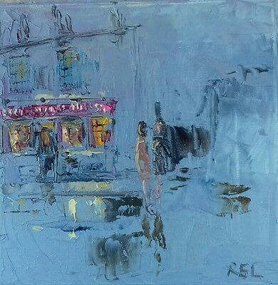 Bricklayers Arms-Putney-London-oil on canvas-