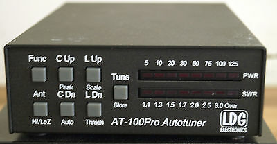 LDG AT100PRO 125W on HF & 100w on 6m automatic antenna tuner