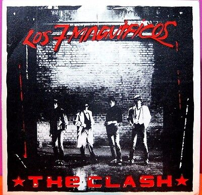 The Clash - Los 7 Magnificos, Single Vinilo 7""