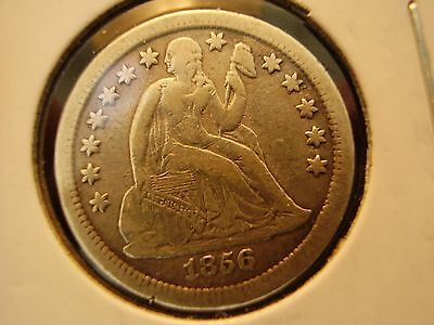 1856-S Seated Liberty Dime