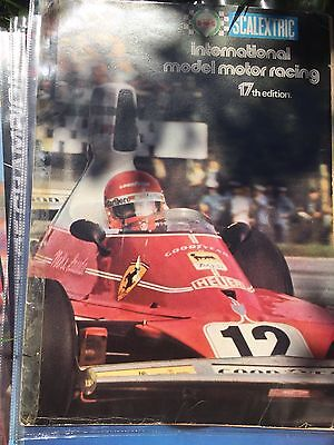 SCALEXTRIC ELECTRIC SLOT CAR RACING 17th EDITION 1976 PRODUCT RANGE CATALOGUE