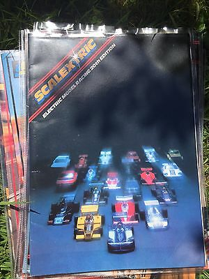 SCALEXTRIC ELECTRIC SLOT CAR RACING 20th EDITION 1979 PRODUCT RANGE CATALOGUE Vg