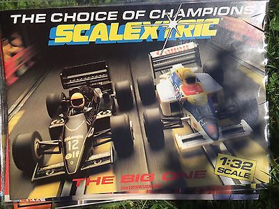 SCALEXTRIC ELECTRIC SLOT CAR RACING 28th EDITION 1987 PRODUCT RANGE CATALOGUE Vg