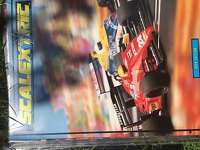 SCALEXTRIC ELECTRIC SLOT CAR RACING 30th EDITION 1989 PRODUCT RANGE CATALOGUE Vg