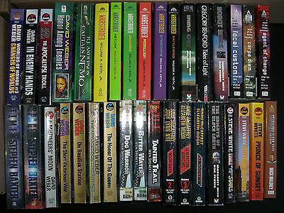 Job lot of 35 x Assorted Science Fiction Books by Various Authors.