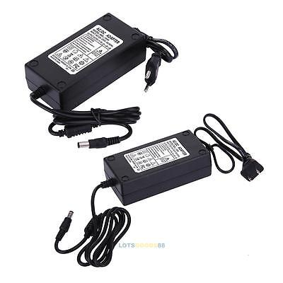 15V 5A AC to DC Power Supply Adapter Charger Dual Cable Converter 5.5x2.1-2.5mm