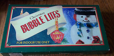Christmas Bubble Lights by Midwest of Cannon Falls with Original Box