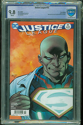 Justice League #51 Error Edition 9.8 CBCS