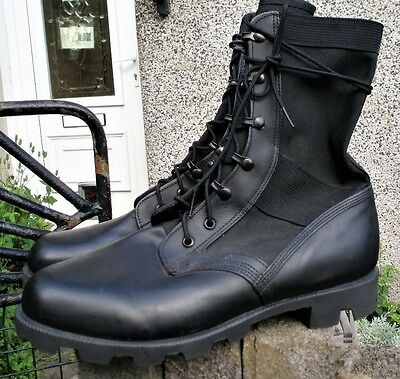 Sz 10 XW WELLCO JUNGLE BOOTS US Army COMBAT Patrol Hot Weather Cadets Security