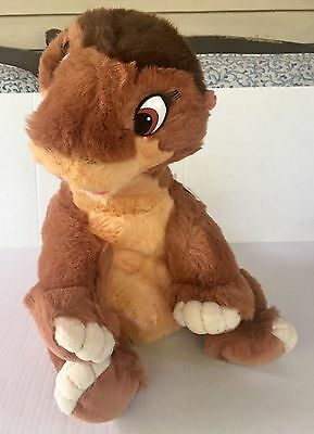 """Vtg 80s THE LAND BEFORE TIME Plush STUFFED Toy GUND JC Penney 1988 17"""""""