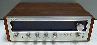 Vintage Pioneer Classic Stereo Receiver SX-434 w/ Wood Grain