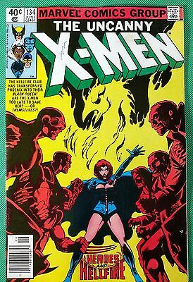 X-men (1963) #134 FN- (5.5)  1st app Dark Phoenix