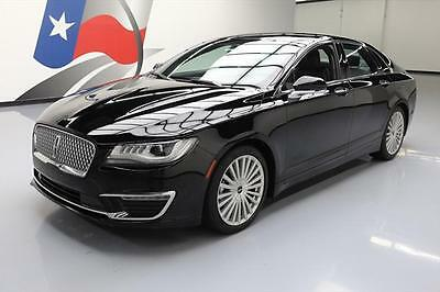 2017 Lincoln MKZ/Zephyr  2017 LINCOLN MKZ RESERVE CLIMATE SEATS NAV REAR CAM 35K #603852 Texas Direct