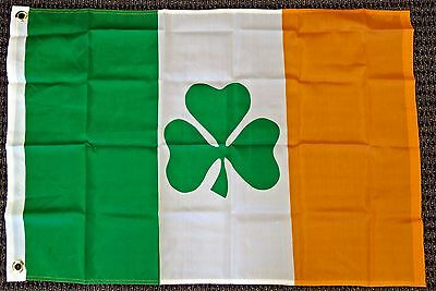 2x3 Ireland Flag Irish Shamrock Banner Clover Pennant St Patricks Day Celtic