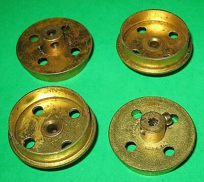 Meccano Flanged Wheels 1-1/8""