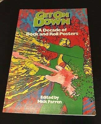 Get On Down A Decade Of Rock and Roll Posters Book Hendrix Dead Fillmore Griffin