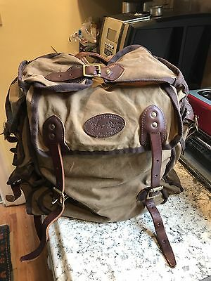 Frost River Awesome Backpack  Preowned