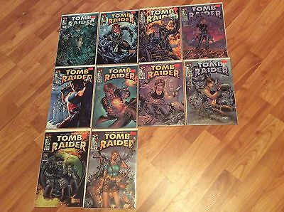 LARA CRAFT TOMB RAIDER #'s 2-11 plus 3 Witchblade #1's plus Gallery NM