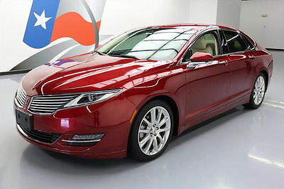 2014 Lincoln MKZ/Zephyr  2014 LINCOLN MKZ 2.0 ECOBOOST NAV REARVIEW CAM 47K MI #830491 Texas Direct Auto
