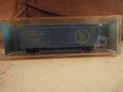 Estate Find! Atlas N Scale Great Northern 40' Box Car With Metal Wheels