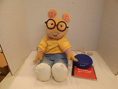 Microsoft Actimates Interactive Arthur PBS Kids Smart Toy Talking Moving Plush