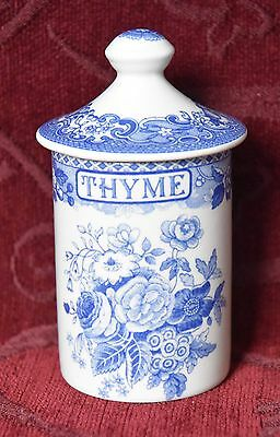 The Spode Blue Room Collection, Spice Cannister - Thyme.