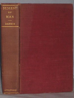 1898 Book The Descent Of Man And Selection In Relation To Sex By Charles Darwin