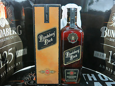 BUNDABERG BLACK RUM VAT 14 1986 World Class Rum Near Mint 700ML NO 62570