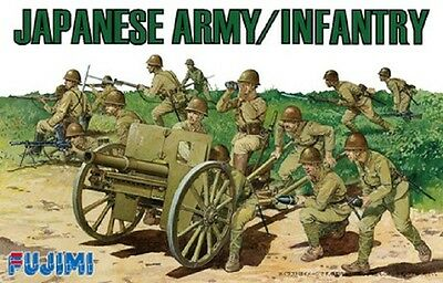 FUJIMI 76122 WWII Japanese Army / Infantry in 1:76