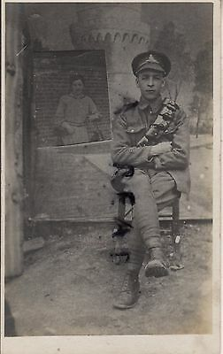 WW1 Soldier Driver Royal Artillery Salonica