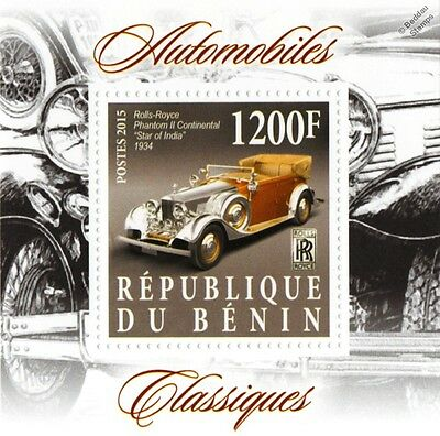 "1934 ROLLS-ROYCE Phantom II Continental ""Star of India"" Classic Car Stamp"
