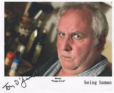 """Being Human Auto Photo Print Anthony O'Donnell """"Emrys"""""""