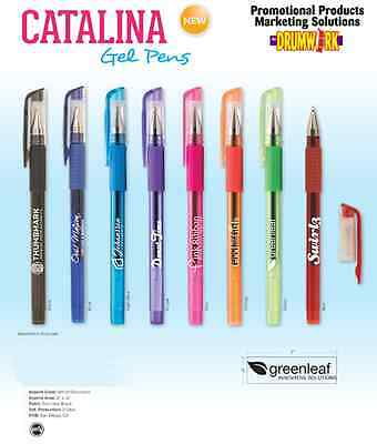 Gel Pens Personalized Promo Marketing Advertising Handout Tradeshow Convention