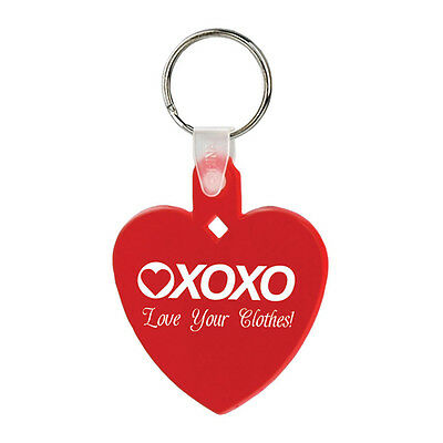 Heart Soft Keytags Personalized Promotional Healthcare Marketing Giveaway Cheap