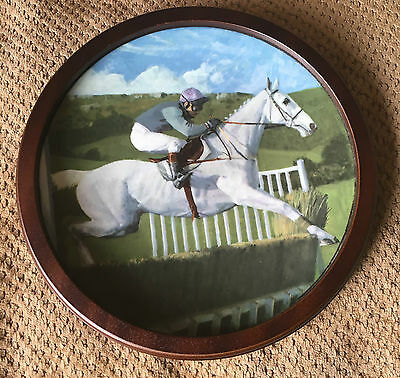Royal Doulton Desert Orchid Large Plate Collector's Gallery Ltd Ed R Coleman Vgc