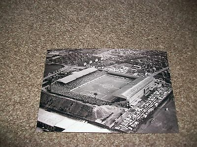 "LEEDS UNITED  ELLAND ROAD  AERIAL PHOTO   1950s ?  6""x4""  REPRINT"