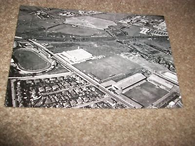 "LEEDS UNITED ELLAND ROAD  AERIAL VIEW 1950s ? 1960s (D)  6""x4"" REPRINT POST FREE"